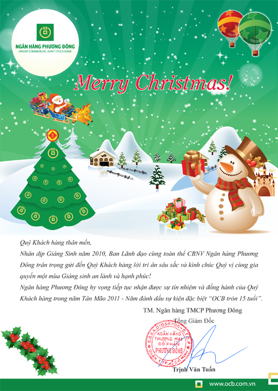 OCB Merry Christmas 2010