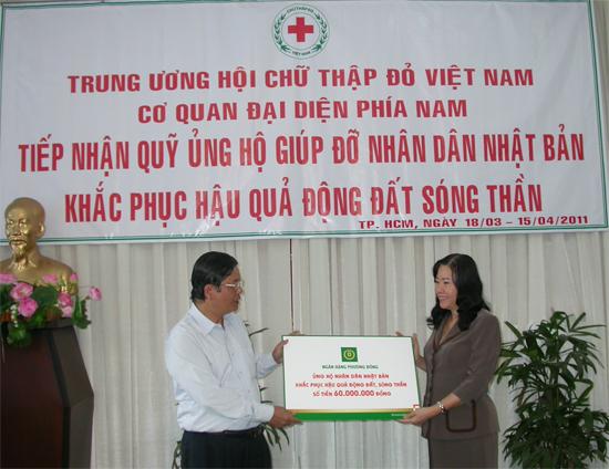 PGS.TS Phùng Văn Ho� ng – Phó chủ tịch Trung ương Hội chữ thập đỏ Việt nam