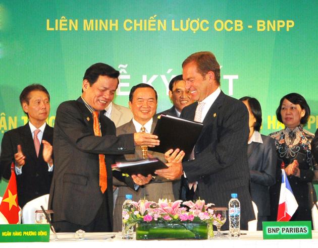OCB ký kết hợp tác với BNPP