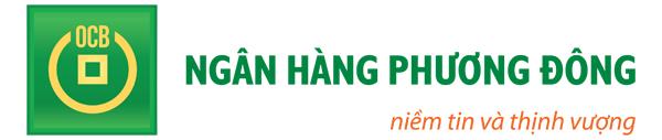 Logo Ngân hàng Phương Đông (Logo Ngang)